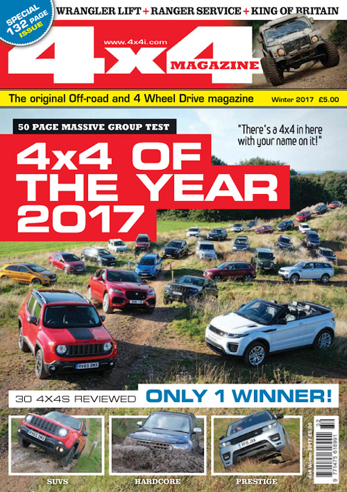 4x4 Magazine UK - Winter 2017