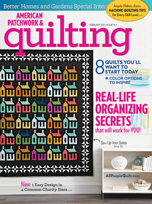 American Patchwork & Quilting - February 2017
