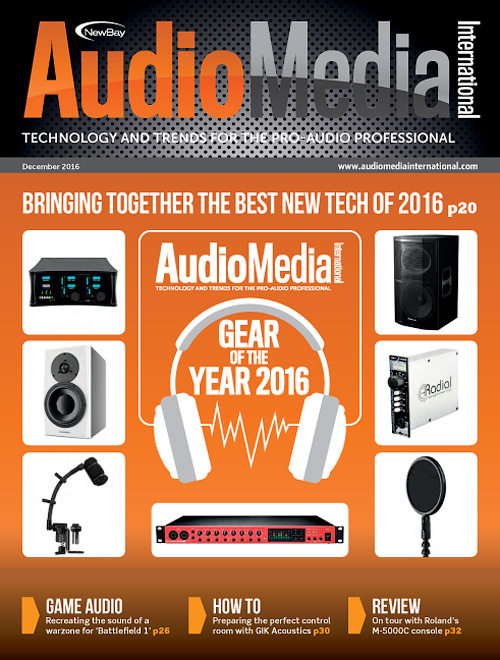 Audio Media International - December 2016