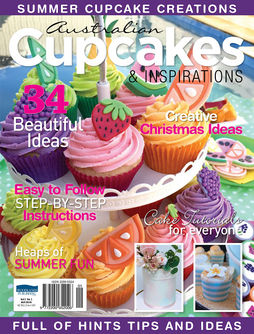 Australian Cupcakes & Inspiration - Volume 5 Issue 1, 2017