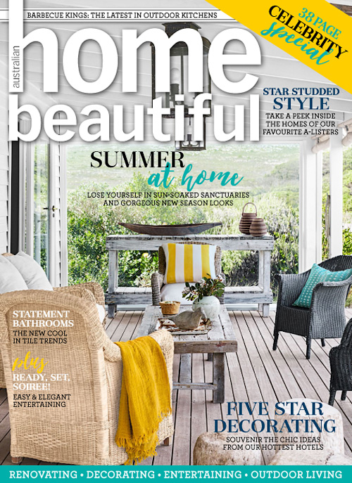 Australian Home Beautiful - January 2017
