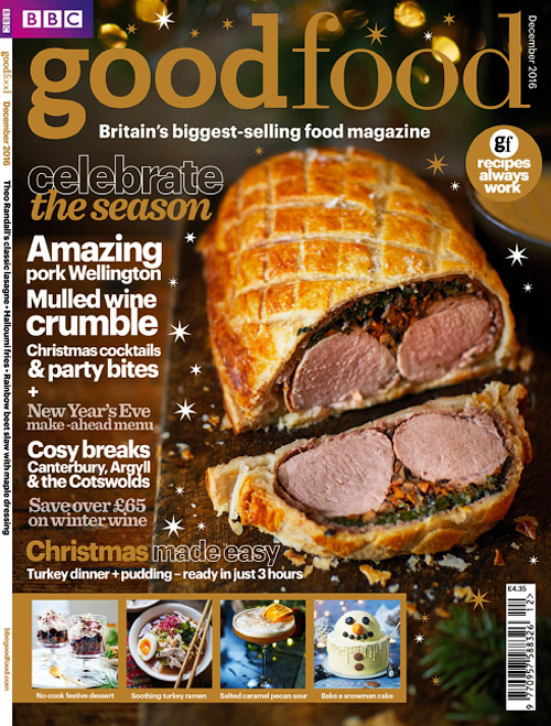 BBC Good Food UK - December 2016