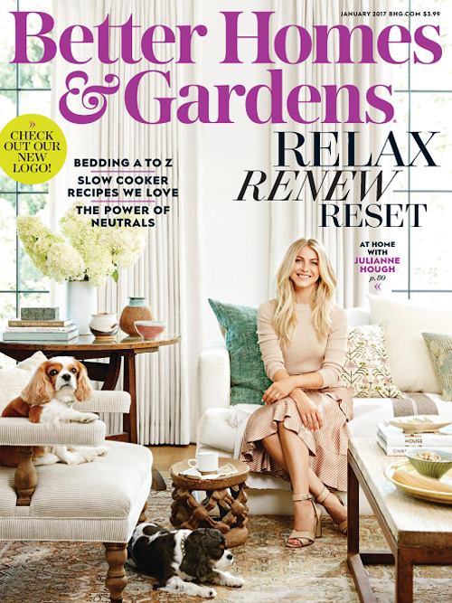 Better Homes & Gardens USA - January 2017