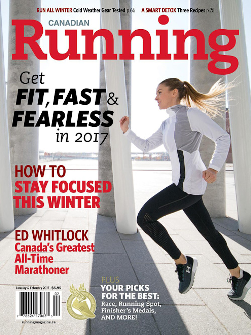Canadian Running - January/February 2017