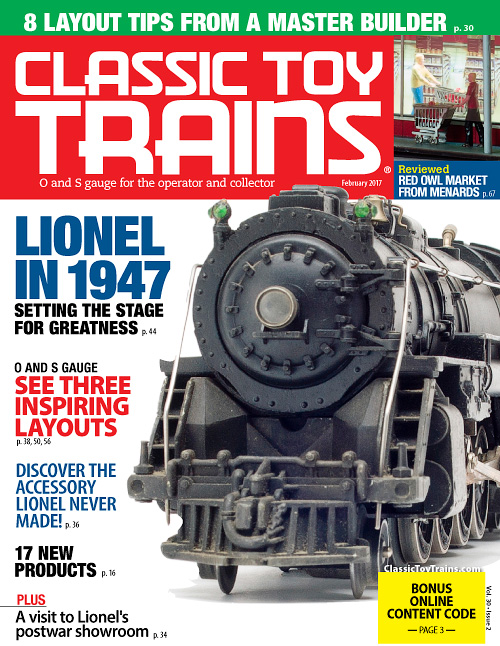 Classic Toy Trains - February 2017