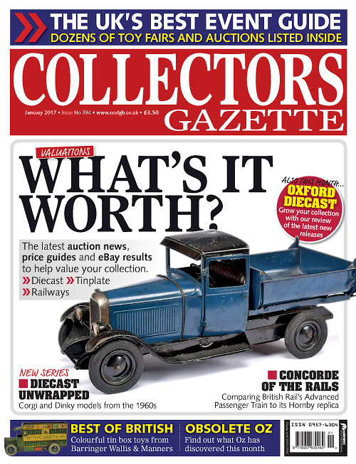 Collectors Gazette - January 2017
