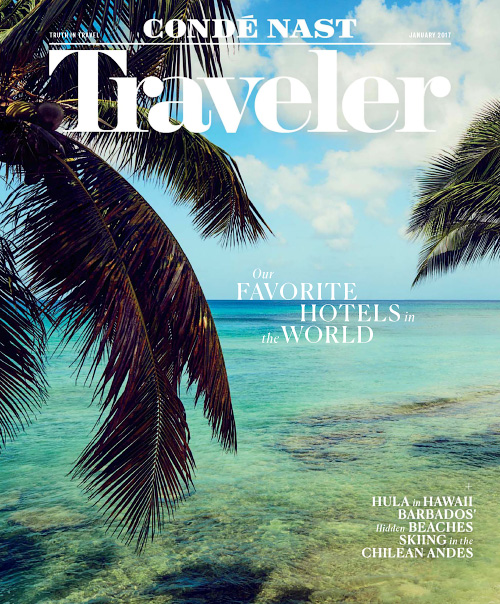 Conde Nast Traveler USA - January 2017