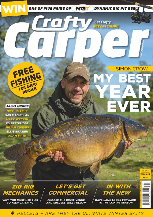 Crafty Carper - January 2017