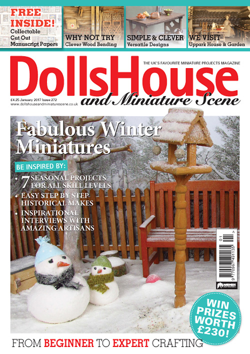 Dolls House And Miniature Scene - January 2017