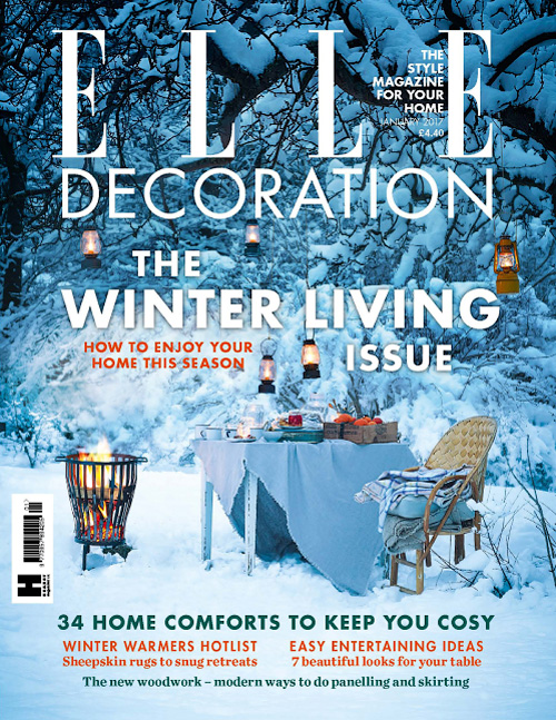 Elle Decoration UK - January 2017