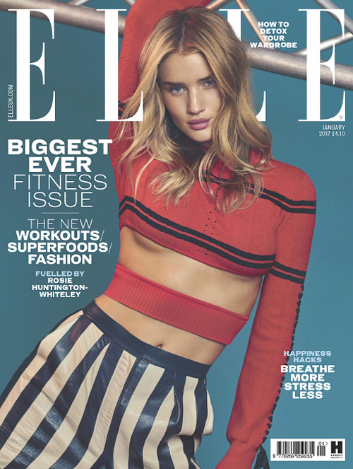 Elle UK - January 2017