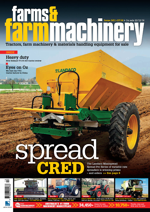 Farms & Farm Machinery - Issue 341, 2016