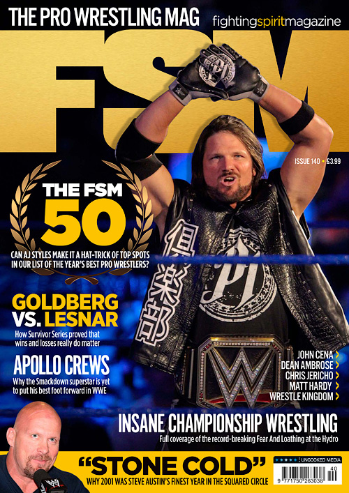 Fighting Spirit Magazine - Issue 140, 2016