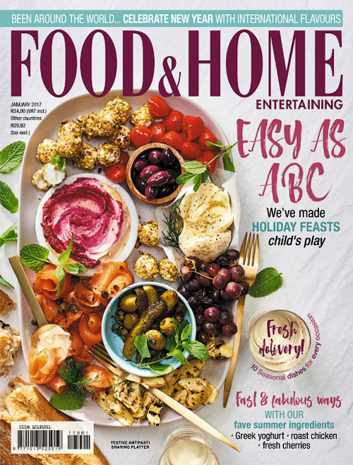 Food & Home Entertaining - January 2017