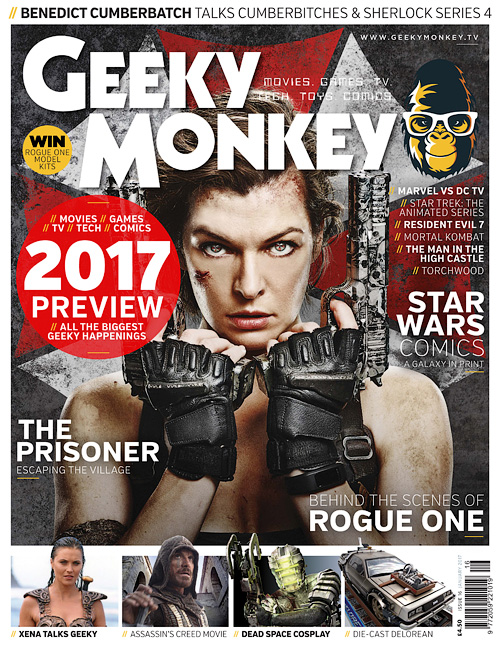 Geeky Monkey - January 2017