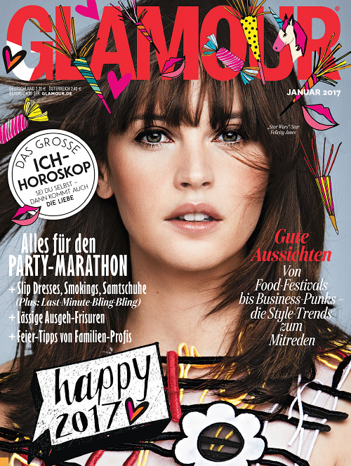 Glamour Germany - Januar 2017