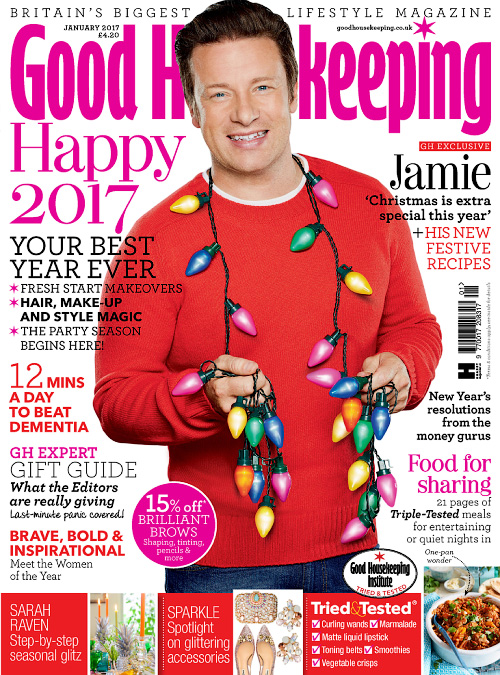 Good Housekeeping UK - January 2017