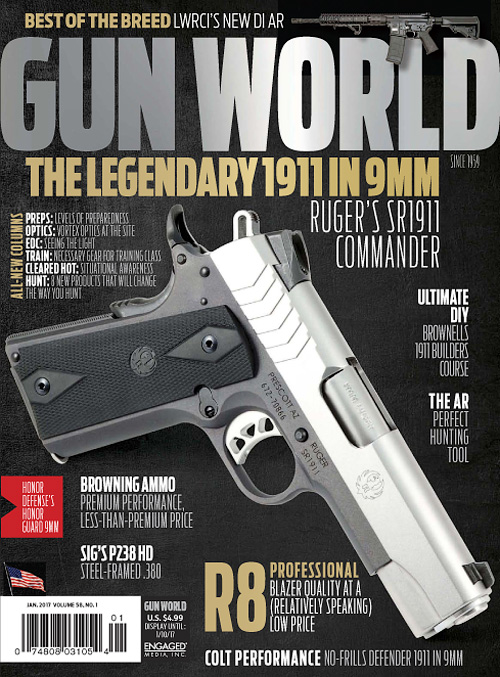 Gun World - January 2017