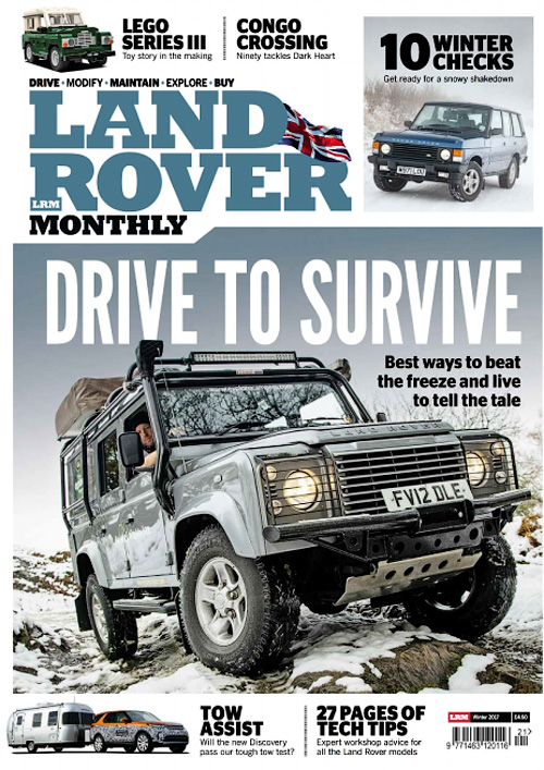 Land Rover Monthly - Winter 2017