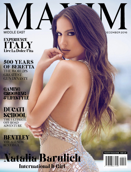 Maxim Middle East - December 2016