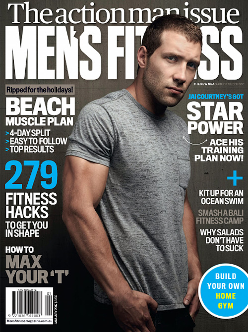 Men's Fitness Australia - January 2017