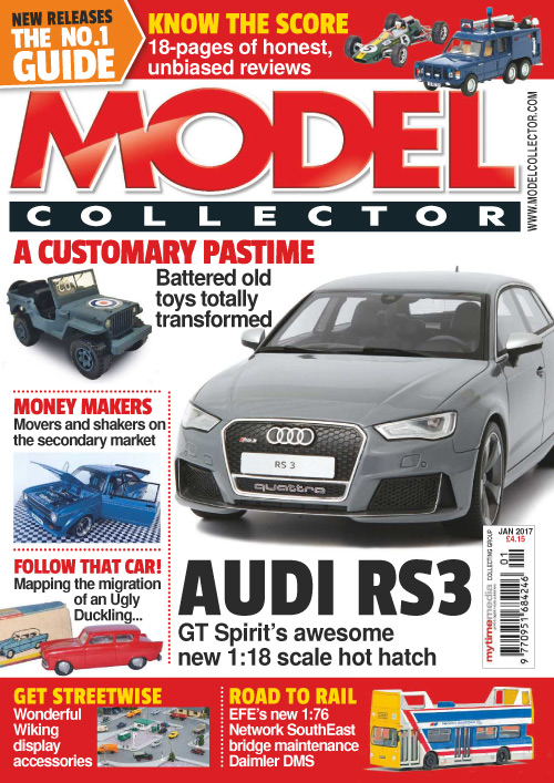 Model Collector - January 2017