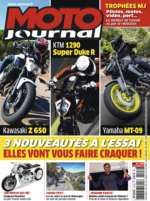 Moto Journal - 14 Decembre 2016
