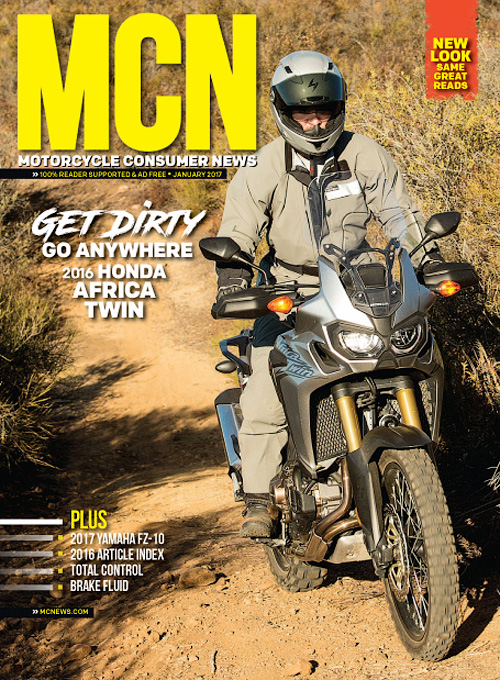 Motorcycle Consumer News - January 2017