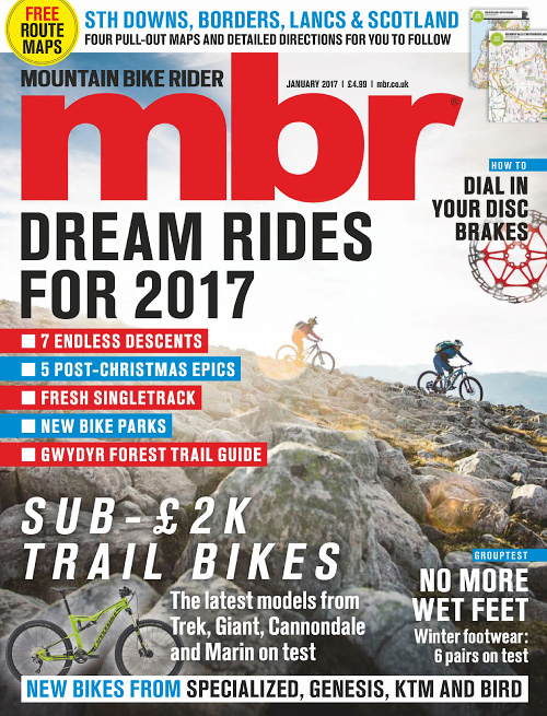 Mountain Bike Rider - January 2017