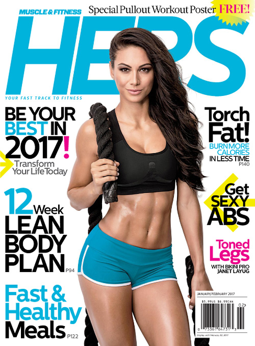 Muscle & Fitness Hers - January/February 2017