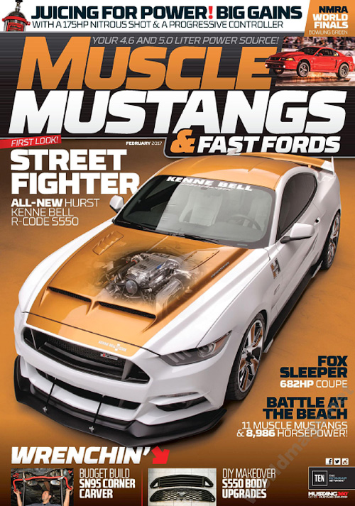 Muscle Mustangs & Fast Fords - February 2017