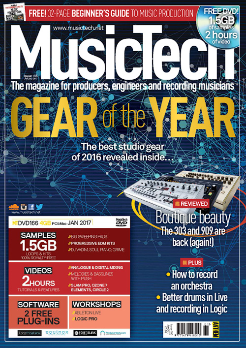 MusicTech - January 2017