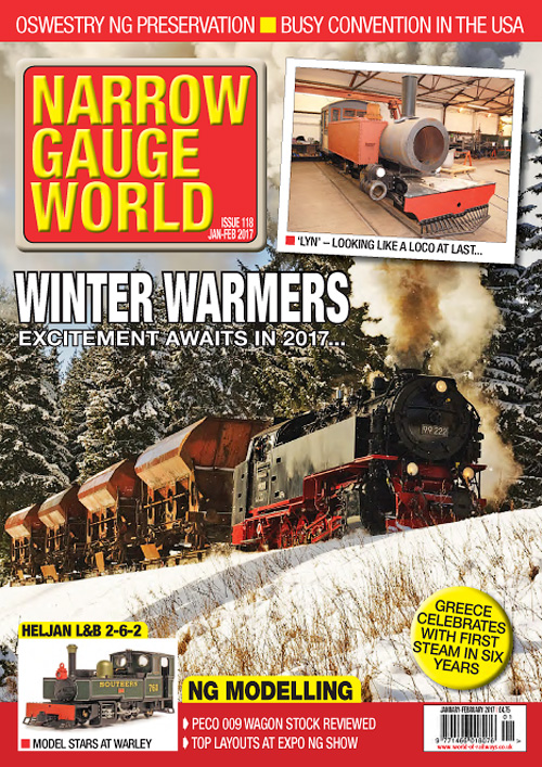 Narrow Gauge World - January/February 2017