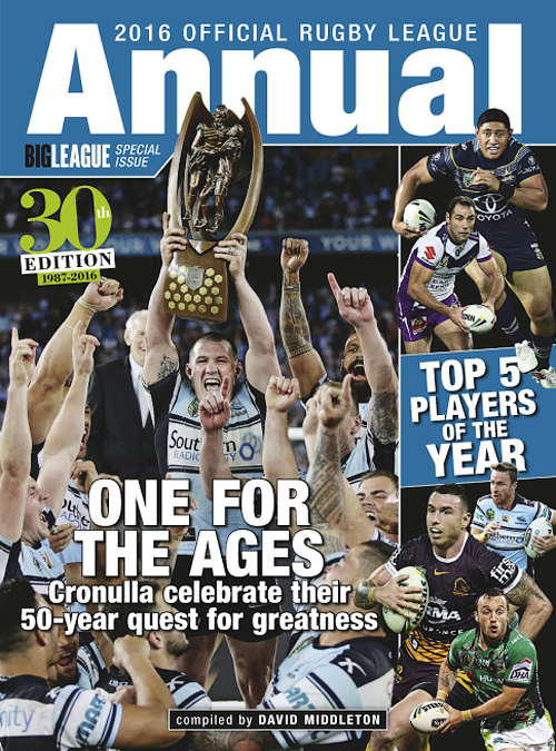 Official Rugby League Annual 2016