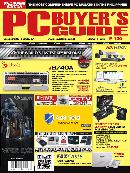 PC Buyer's Guide - December 2016/February 2017