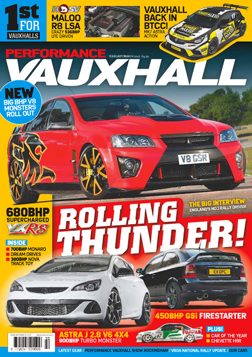 Performance Vauxhall - February/March 2017