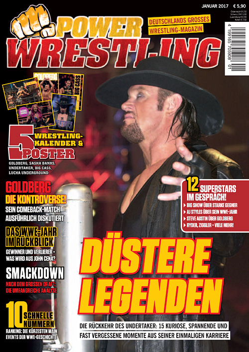 Power Wrestling - Januar 2017