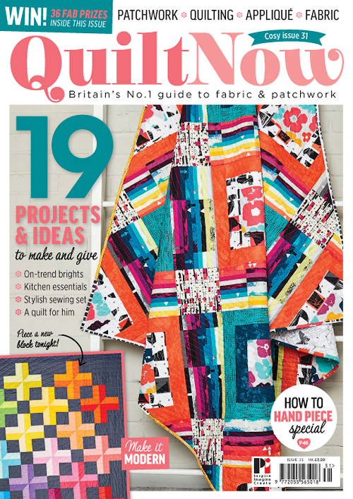 Quilt Now - Issue 31, 2017