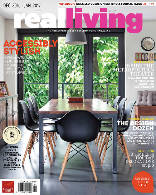 Real Living Philippines - December 2016/January 2017