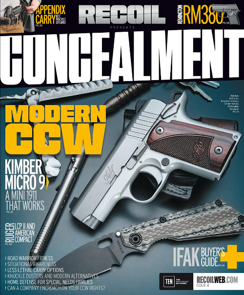 Recoil Concealment - Issue 4, 2016