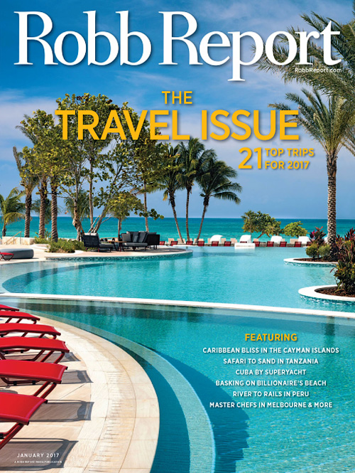 Robb Report USA - January 2017