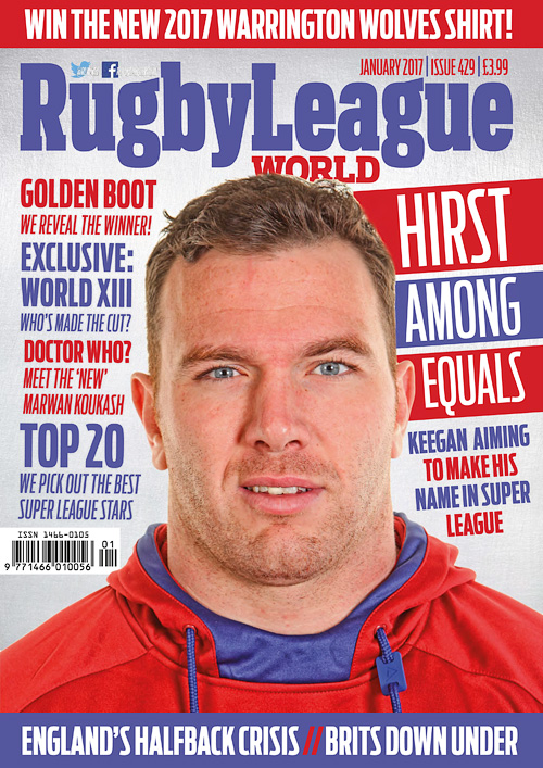 Rugby League World - January 2017