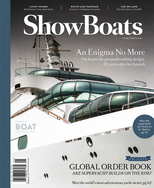 ShowBoats International - January 2017