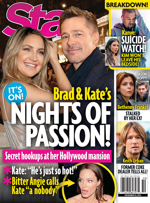 Star Magazine USA - December 12, 2016