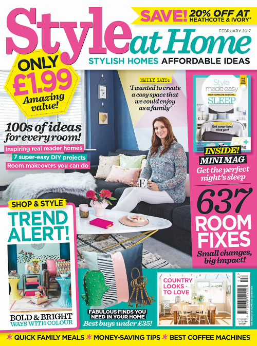 Style at Home UK - February 2017