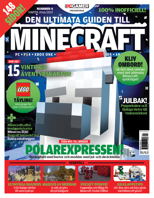 Svenska PC Gamer - Den ultimata guiden till Minecraft - Vinter 2016-2017