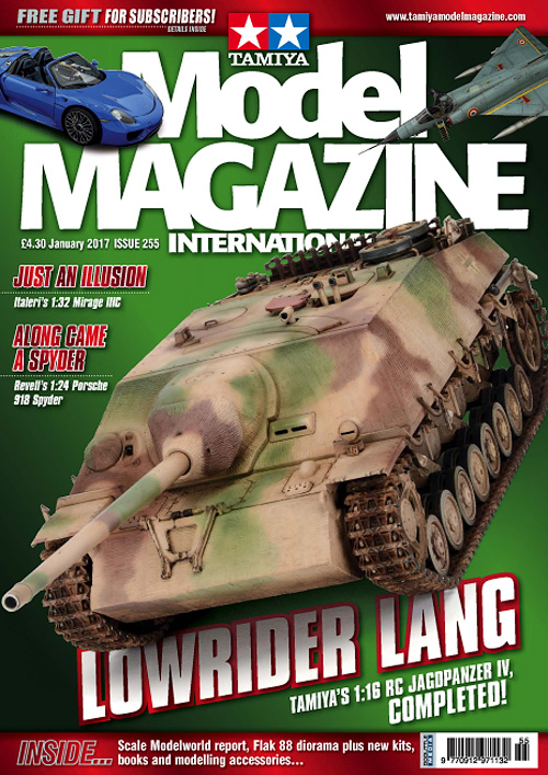 Tamiya Model Magazine - January 2017