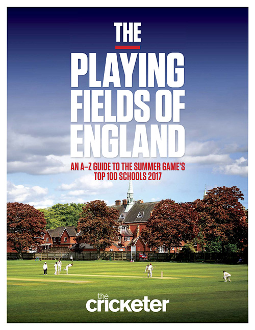 The Cricketer - The Playing Fields of England 2016