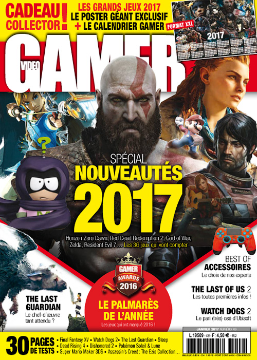 Video Gamer - Janvier 2017
