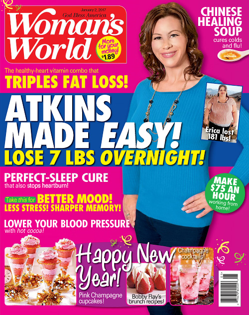 Woman's World USA - January 2, 2017